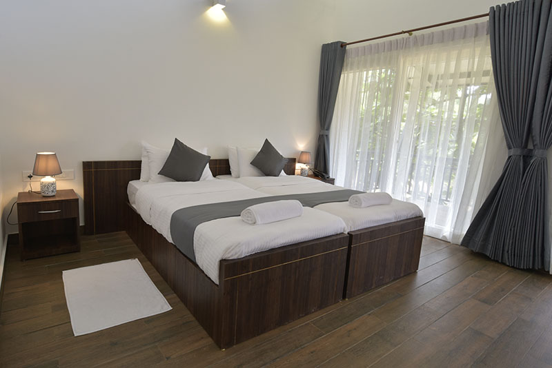 Luxurious Rooms in Sattva Resort